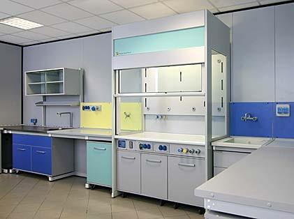 Cappe da laboratorio cappe aspiranti cappe chimiche for Arredi da laboratorio
